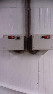 Две низкотемпературные камеры по 200 метров кубических