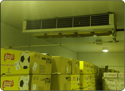 Среднетемпературный потолочный испаритель
