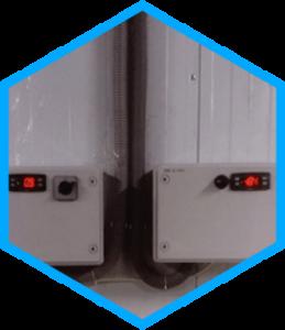 Низкотемпературные камеры уличный вариант